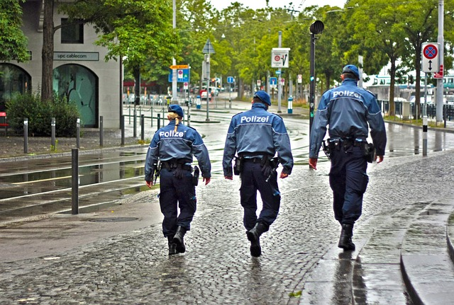 3 אנשי משטרה
