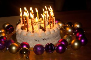 עוגה של יום הולדת