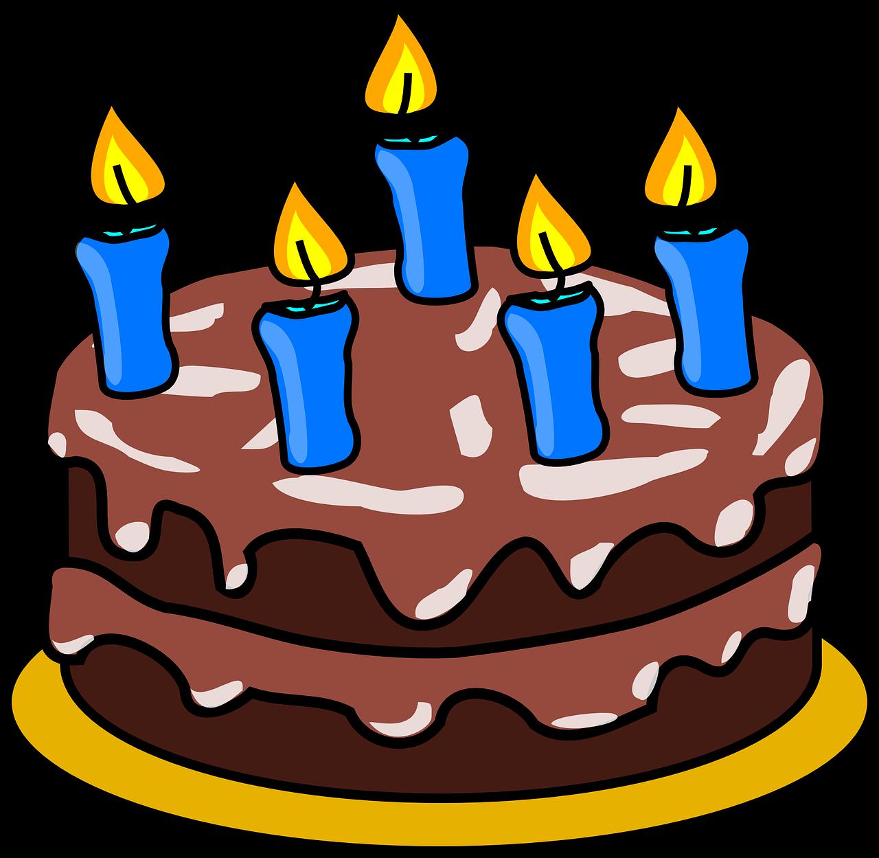 ציור של עוגה