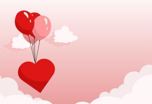 בלון בצורת לב