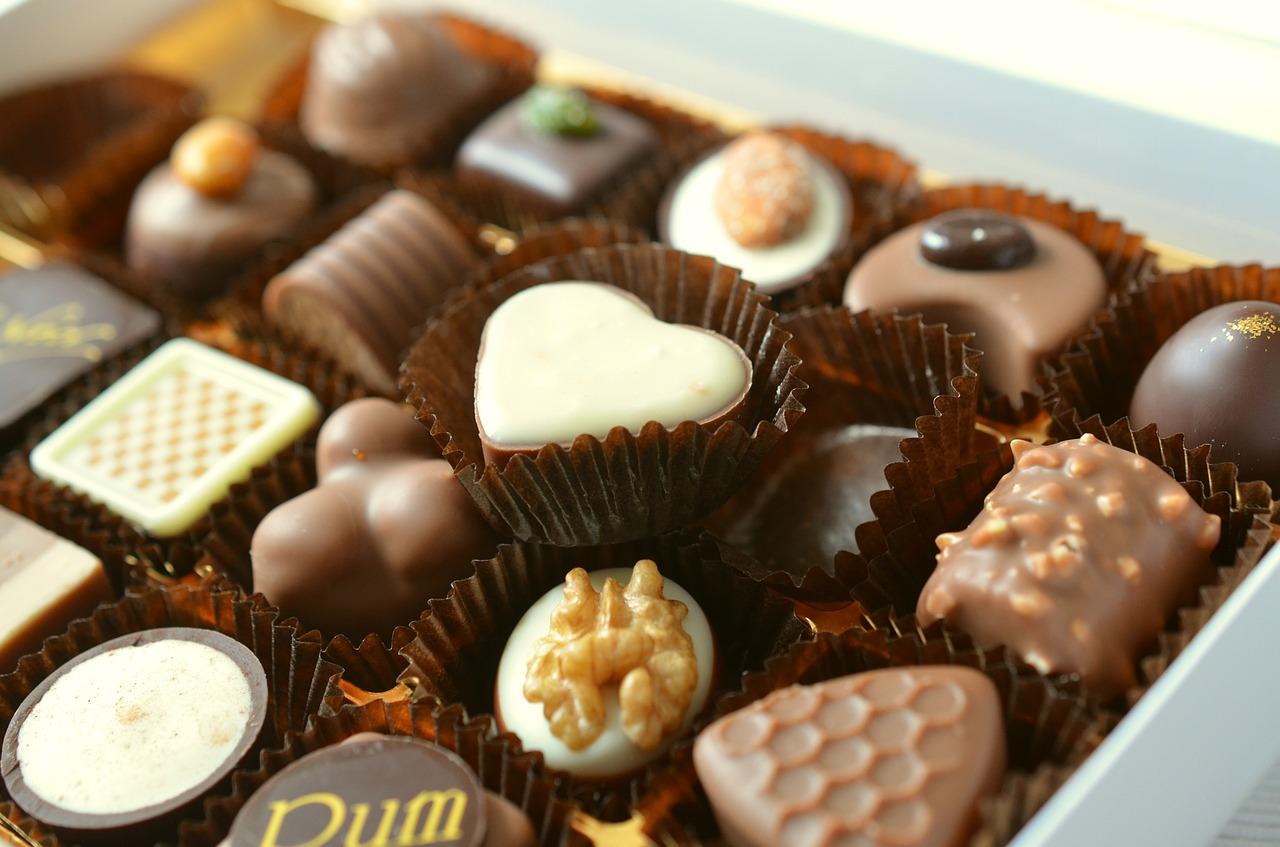 שוקולדים בצורות
