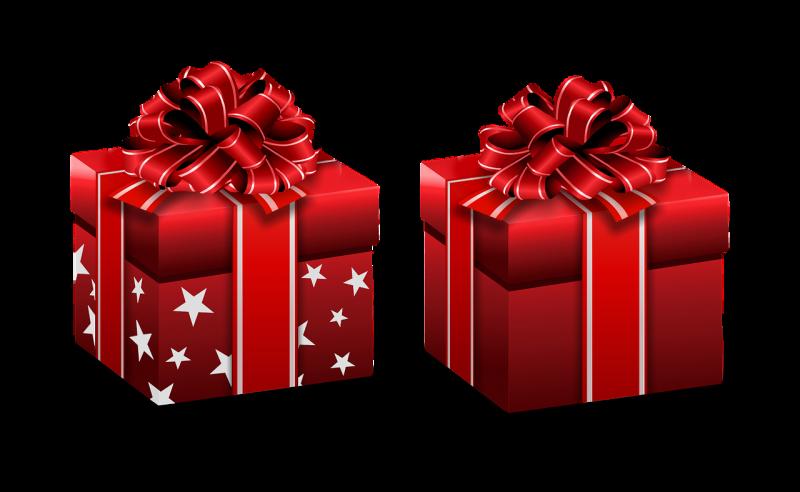 מתנות בצבע אדום