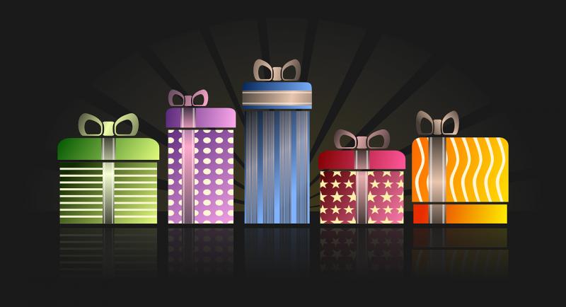 מגוון רכב של מתנות