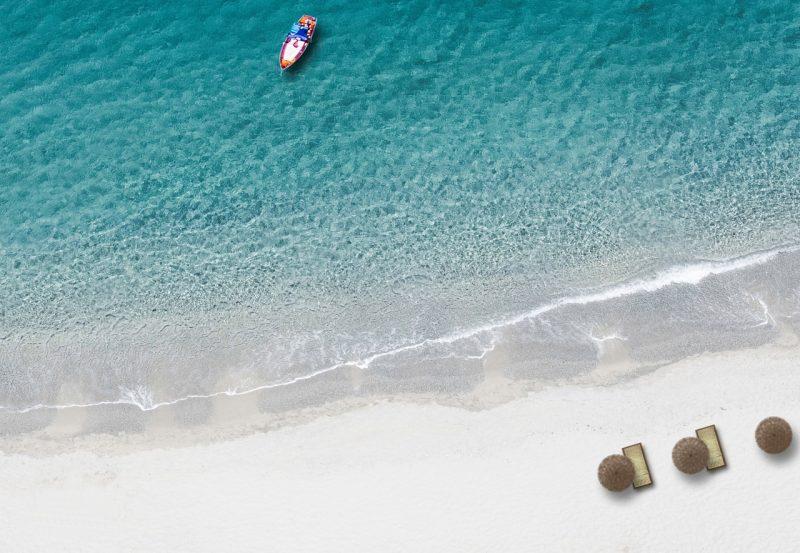 חוף ים טרופי